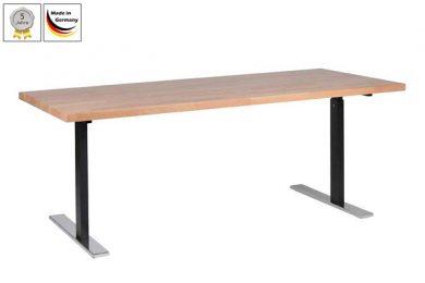 Schreibtisch manuell höhenverstellbar